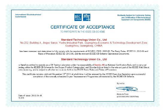 MON、INMETROCE、SASO、ROHS、CE certification|STU Lab|Standard ...